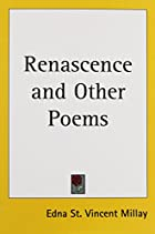 Another cover of the book Renascence and Other Poems by Edna St. Vincent Millay