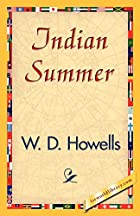 Another cover of the book Indian Summer by William Dean Howells