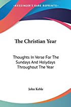 Another cover of the book The Christian year by John Keble