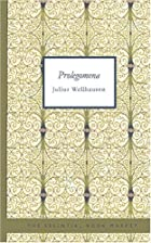 Another cover of the book Prolegomena by Julius Wellhausen