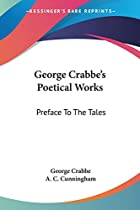 Another cover of the book The poetical works of George Crabbe by George Crabbe