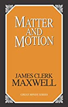 Another cover of the book Matter and motion by James Clerk Maxwell