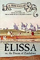 Cover of the book Elissa by H. Rider Haggard