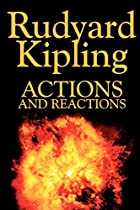 Another cover of the book Actions and Reactions by Rudyard Kipling