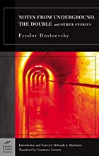 Another cover of the book Notes from the Underground by Fyodor Dostoyevsky