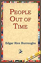 Another cover of the book The People That Time Forgot by Edgar Rice Burroughs