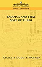 Cover of the book Baddeck, and That Sort of Thing by Charles Dudley Warner