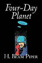 Cover of the book Four-Day Planet by H. Beam Piper