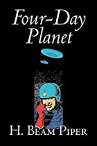 Another cover of the book Four-Day Planet by H. Beam Piper