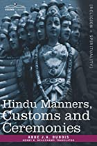 Another cover of the book Hindu manners, customs and ceremonies by J. A. (Jean Antoine) Dubois