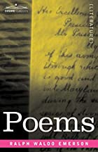 Another cover of the book Poems by Ralph Waldo Emerson