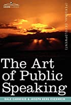 cover for book The Art of Public Speaking