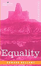 Another cover of the book Equality by Edward Bellamy
