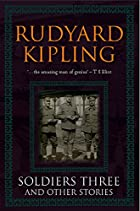 Another cover of the book Soldiers Three by Rudyard Kipling