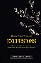 Another cover of the book Excursions by Henry David Thoreau
