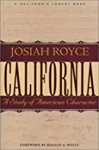 Cover of the book California by Josiah Royce