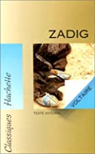 Another cover of the book Zadig by Voltaire