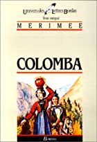 Another cover of the book Colomba by Prosper Mérimée