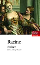 Another cover of the book Esther by Jean Baptiste Racine
