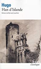 Another cover of the book Hans of Iceland by Victor Hugo