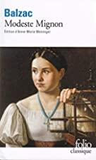 Another cover of the book Modeste Mignon by Honoré de Balzac