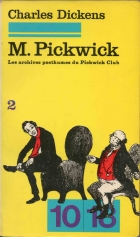 Another cover of the book The Pickwick Papers by Charles Dickens