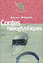 Another cover of the book Hieroglyphic Tales by Horace Walpole