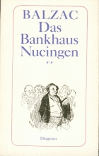 Another cover of the book The Firm of Nucingen by Honoré de Balzac