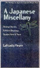 Another cover of the book A Japanese miscellany by Lafcadio Hearn