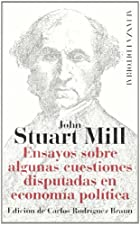 Another cover of the book Essays on some unsettled Questions of Political Economy by John Stuart Mill