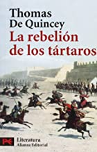 Another cover of the book Revolt of the Tartars by Thomas De Quincey