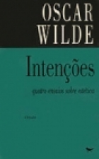 Another cover of the book Intentions by Oscar Wilde