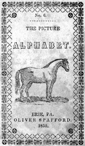 Cover of the book The Picture Alphabet by Oliver Spafford