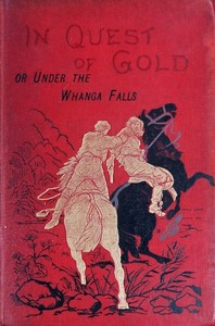 Cover of the book In quest of gold; or, Under the Whanga Falls by Alfred St. Johnston