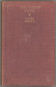 Cover of the book The Coxon Fund by Henry James