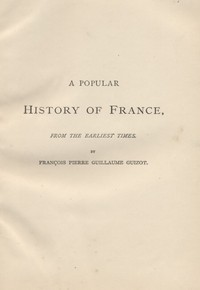Cover of the book A Popular History of France from the Earliest Times, Volume 5 by François Pierre Guillaume Guizot