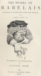 Cover of the book Gargantua and Pantagruel by François Rabelais