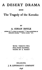Cover of the book The Tragedy of the Korosko by Arthur Conan Doyle