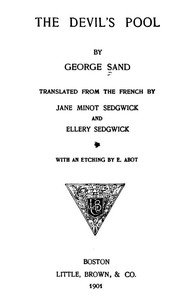 Cover of the book The Devil's Pool by George Sand