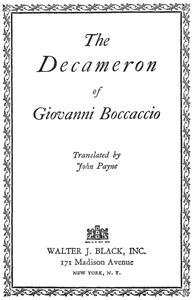 Cover of the book The Decameron of Giovanni Boccaccio (Il Boccaccio) : now first completely done into English prose and verse (Volume 2) by Giovanni Boccaccio