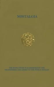 Cover of the book Nostalgia .. by Grazia Deledda