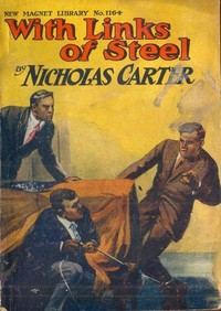 Cover of the book With Links of Steel by Nicholas Carter