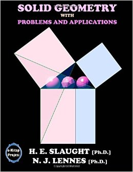 Cover of the book Solid geometry, with problems and applications by H. E. (Herbert Ellsworth) Slaught