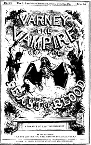 Cover of the book Varney the Vampire Or the Feast of Blood by Thomas Preskett Prest