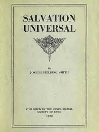 Cover of the book Salvation universal by Joseph Fielding Smith