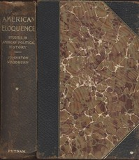 Cover of the book American Eloquence, Volume 4 Studies In American Political History (1897) by Various