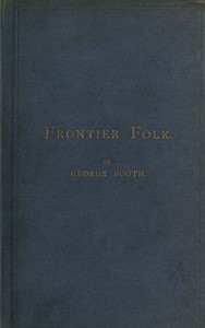 Cover of the book Frontier folk by George Booth