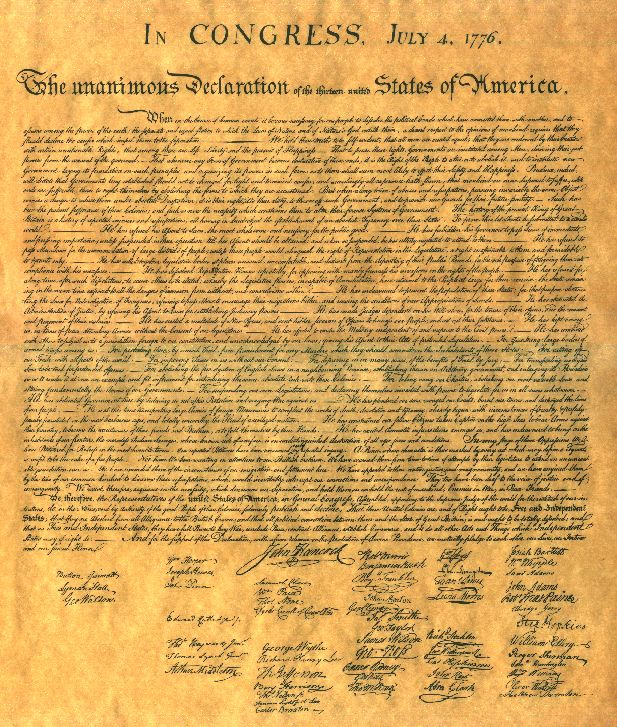 Cover of the book The Declaration of Independence of The United States of America by Thomas Jefferson