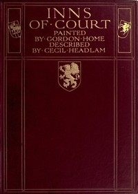 Cover of the book The Inns of court by Cecil Headlam