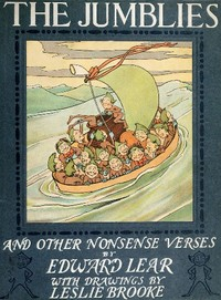 Cover of the book The jumblies and other nonsense verses by Edward Lear
